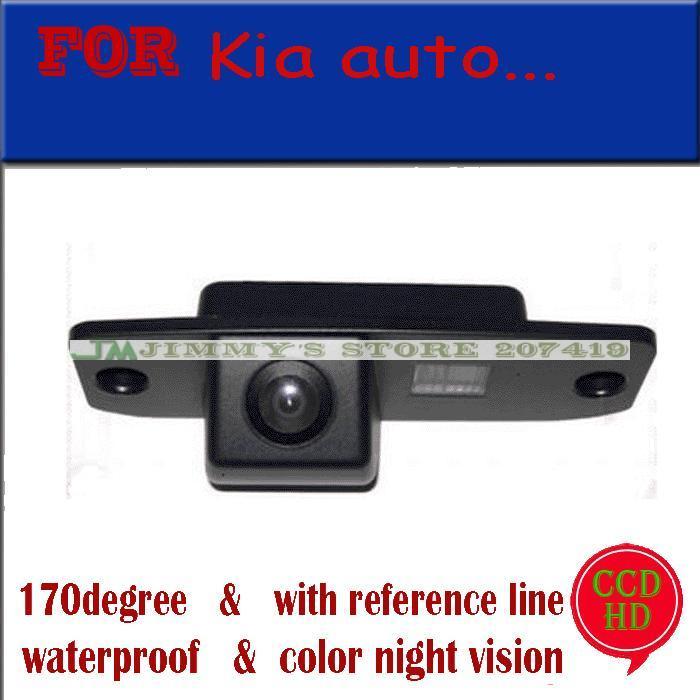 for sony ccd Car camera for KIA Carens/Borrego/Oprius/Sorento/Sportage R / KIA CEED Car Rear View Camera Reverse parking assist(China (Mainland))