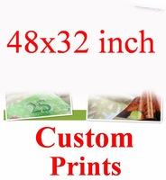 48x32 inch (120x80cm) Your Pics Customize Custom Order Family Silk Wall Poster Girl Boy Baby Friends Room Pet Huge Big Prints