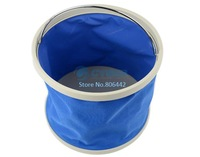 New Blue Retractable Portable Telescopic 9L Car Washing Bucket 10718