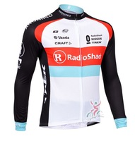wholesale 2013 new men's white TREK team leisure cycling jersey cycling wear long sleeve Bicycle clothing free shipping