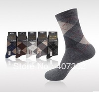 Free Shipping! 5pairs Male men's  color wool socks winter thermal socks man wool sock angora sock