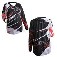 2014 new style KTM off road bicycle cycling jerseys motocross T shirts DH man Costume dirt bike ATV jerseys M L XL free ship