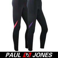 1 pcs/lot PJ Women's Padded Sports Outdoor Cycling Long Pants 3 Size XS~M Free Shipping QX347