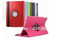 MOQ 1PC For iPad Air iPad 5 Case,Luxury 360 Rotating PU Leather Case For Apple ipad 5