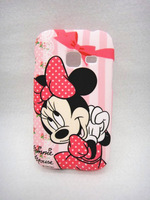 Cute cartoon Minnie shell for Samsung Galaxy Ace Duos S6802 High Quality Cell Phone Case Silicone