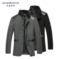 Jack 2013 autumn and winter slim woolen overcoat male woolen top outerwear male woolen overcoat AB-71