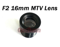High Quantity Security MTV 16mm Lens 20 Degree Wide Angle Fixed CCTV Board Lens F2.0 for CCTV camera