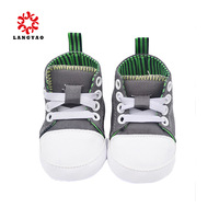 1pair 2014 New Fashional Gray Infantil Kids Cross Shoes Children Baby First Walkers -- ZYS17 Free Shipping