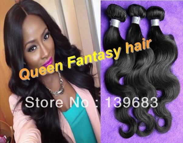 Queen Fantasy Hair 6A 3 /#1b QF-weft-114 2750 fantasy cotu