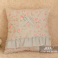 Square pillow sofa cushion ofhead cushion 100% cotton fabric pillow