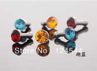 1000pcs diamond Earphone Headphone anti Dust plug dust Cap for iphone 4 4s for 3.5mm plug mobile phone free DHL/Fedex
