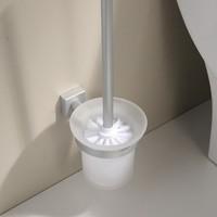 Free shipping Space aluminum toilet brush toilet brush cleaning brush wholesale