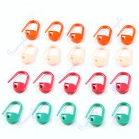 D19+4pack (20pcs/pack) Colorful Knitting Crotchet Locking Stitch Markers Craft Helper