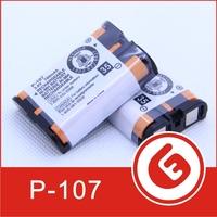 Wholesale HHR-P107 P107  700mAh  NI-CD Rechargeable batteries Cordless Phone  Battery 3.6v 500 pcs