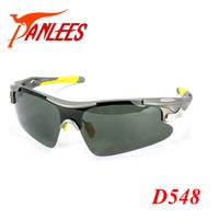 Panlees Outdoor Sports  Anti-UV TR90 Frame Sunglasses Men Three lenses