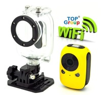 Free Shipping Wifi  Smartphone Control 5.0 Mega Waterproof 1920*1080 1080P Full HD Sport Helmet Camera