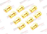 10 PCS BILLET ALUMINUM SMALL SOLENOID COVER FOR VTEC/VTECH ENGINE GOLDEN