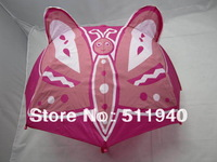 2 pieces/lot lovely kids butterfly umbrella, children cartoon umbrella