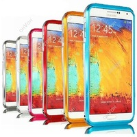 Dual Color Metal Frame Bumper Case Cover For Samsung Galaxy Note 3 N9000