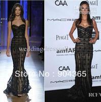 New Halter Alessandra Ambrosio In Zuhair Murad Coutrue Amfar's Inspriration Gala Celebrity Dresses