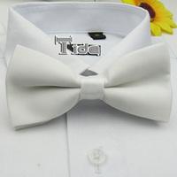 Formal business gentleman bow tie men married WHITE bow ties CJ106