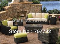2014 The Most Beautiful Deep Seating Outdoor Furniture Rattan Sofa Set