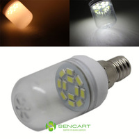 E14 1.5W Warm white/White 12SMD 5730LED 220-240V  90-120LM  5800-6200K/2800-3200K