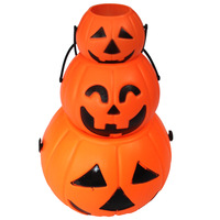 Cosplay halloween pumpkin bucket pumpkin decoration halloween decoration portable pumpkin bucket