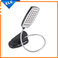 USB 2.0 Clip-on Flexible Book Reading 28 LED Light Lamp Desk Light for PC Lapbook Computer