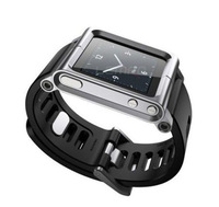 New Arrival Watch Band Wrist Strap Fashion Aluminum Cover Case for iPod Nano 6 6th 6G 6Gen