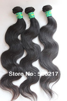 "3pcs/lot, 12""-26"", Unprocessed 6A Brazilian Virgin Hair, Body Wave, Best Quality Human Hair Extension, DHL Free Shipping"