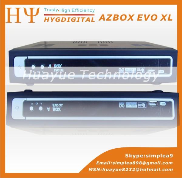 AZ-America Digital Satellite Receiver Azbox EVO XL dvb-s satelltie receiver FTA dvb set top box for South America Market(China (Mainland))