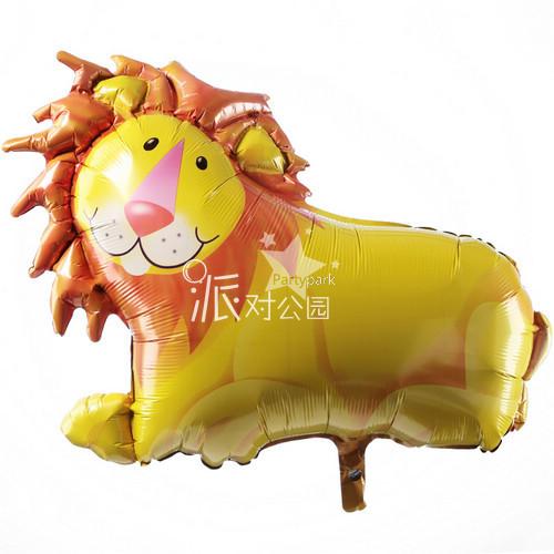 Decoração Frete Grátis Leão folha de alumínio balão fontes da festa de decoração de balões balões(China (Mainland))
