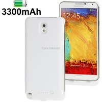 3300mAh Portable Power Bank/ External Battery for Samsung Galaxy Note III / N9000 (White)