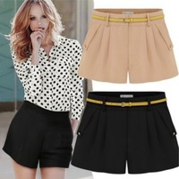 Free Shipping Latest European Style Summer Casual Super Sexy Lady Shorts Women Western Candy Pants Big Size S-XXL 7 Color LBR800