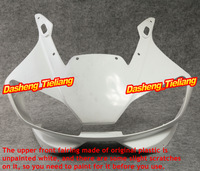 New Unpainted Motor Upper Front Fairing Cowl Nose Fits for Yamaha 1998-2002 YZF R6 ABS, Motorcycle Spare Parts Accessories