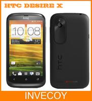 Desire X HTC T328e original unlocked HTC Desire X mobile phone android WIFI GPS 3G 4.0'' touchscreen 5 MP Dual-core freeship