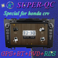 Car GPS, Car radio car audio Car DVD for HONDA CRV support rear view camera reverse camera