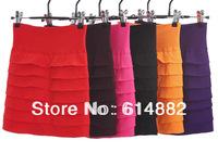 Free Shipping Women Short Skirt Pleated Skirt Slim hip Skirt Short Bust Skirts
