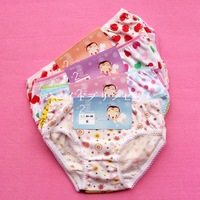 Wholesale+Retail hot sale 12pcs/lot children baby cartoon underwear kid chothes girl panties,inner wears Multicolor