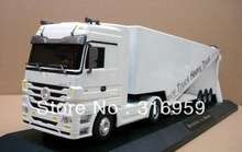 New Long Truck Mercedes Benz Super Heavy Truck 12 Wheel Detachable truck Container High simulation Truck