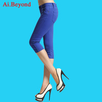 2013 female summer female casual capris casual legging candy multicolour trousers