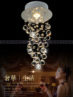 2014 Free Shipping K9 Crystal Chandelier Ceiling Lustre Lamp , Bestselling in Brazil and Russia (B CETM6106) D200*H550mm