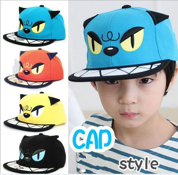 New Hat Popular Cat Caps For both Adults and kids Baseball Caps snapback strapbacks The Shark Hat Hockey caps Free Shipping(China (Mainland))