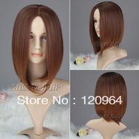 Wholesale made Natural Kanekalon fibre Wigs Best Hair Cheap price medium long u part wig