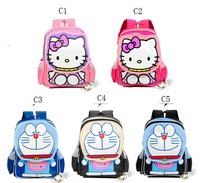 Super deal free shipping Cute Kitty Machine cat baby Schoolbag Children's backpacks Love Gift for Kids Backpack 1 pcs &free gift