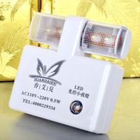 5pcs/lot Led Control Nightlight Square Baby Lamp US Plug In Sensor Induction Night Light 0.5W