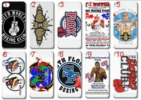 new Boxing club team LOGO case hard back cover for iphone 4 4G 4s 10pcs/lot+free shipping