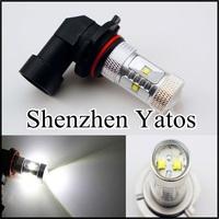 2pcs H8 30W High Power CREE LED Car Fog Light 650LM Lighting Bulb