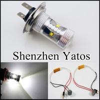 2pcs CREE H7 LED BULB 30W WHITE 6000K LENS Bulb lamp DRL HEAD FOG LIGHT 12V
